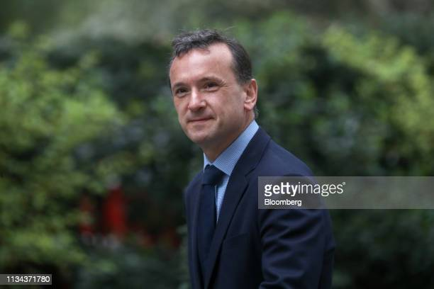 Alun Cairns UK Welsh secretary arrives for a meeting of cabinet ministers at number 10 Downing Street in London UK on Tuesday April 2 2019 UK Prime...