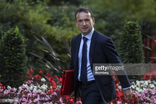 Alun Cairns UK Welsh secretary arrives for a meeting of cabinet ministers at number 10 Downing Street in London UK on Tuesday Sept 10 2019 After...