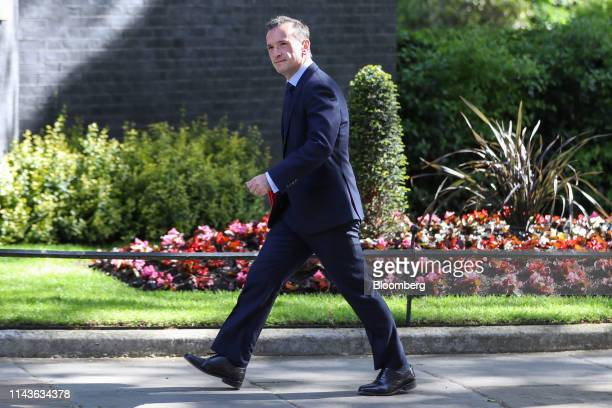 Alun Cairns UK Welsh secretary arrives for a weekly meeting of cabinet ministers at number 10 Downing Street in London UK on Tuesday May 14 2019 UK...