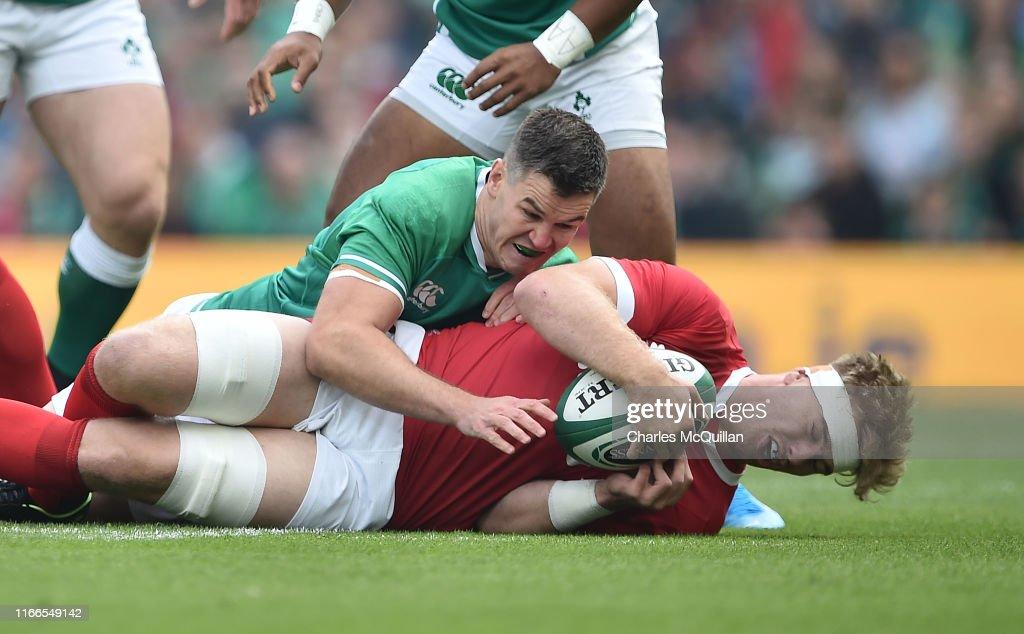 Ireland v Wales - Guinness Summer Series : News Photo