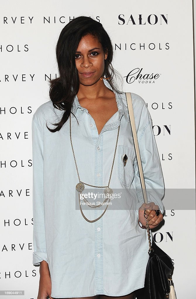 Aluna Francis attends the launch of 1205 Paula Gerbase Hosted By Harvey Nichols ahead of the London Collections: MEN AW13 at on January 6, 2013 in London, England.