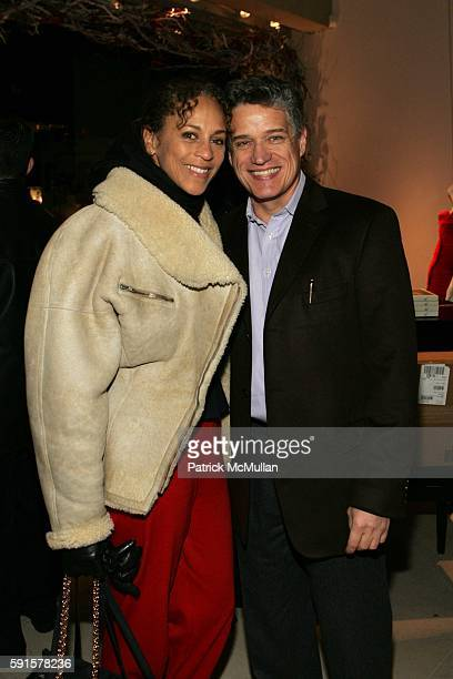 Alva Chinn and Jay Johnson attend A Celebration of Jed Johnson's Work and the Publication of His Book Opulent Restraint at Donna Karan Collection...