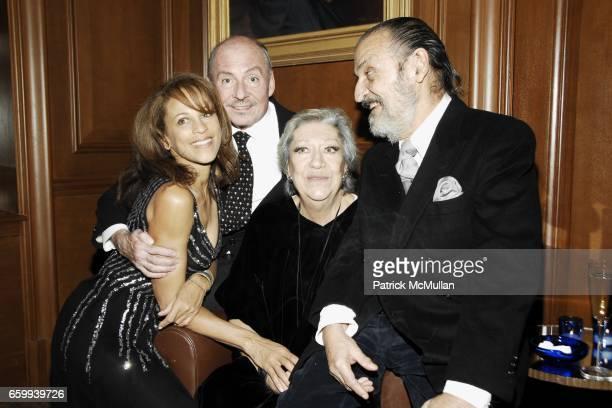 Alva Chinn, Phil Dugan, Elsa Peretti and Xavier Corbero attend ELSA PERETTI Celebrates 35 Years with TIFFANY & Co. At Tiffany & Co. On December 10,...