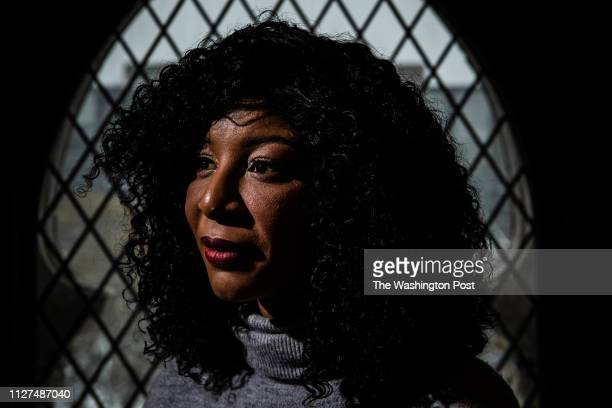 Alva Johnson photographed on Wednesday February 20 in Washington DC Johnson a staffer on Donald Trumps 2016 presidential campaign says he forcibly...