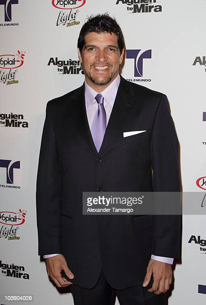 Alvarez Bam Bam attends screening of Telemundo's Alguien Te Mira at The Biltmore Hotel on September 7 2010 in Coral Gables Florida