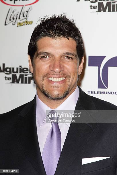 Alvarez Bam Bam attends screening of Telemundo's 'Alguien Te Mira' at The Biltmore Hotel on September 7 2010 in Coral Gables Florida