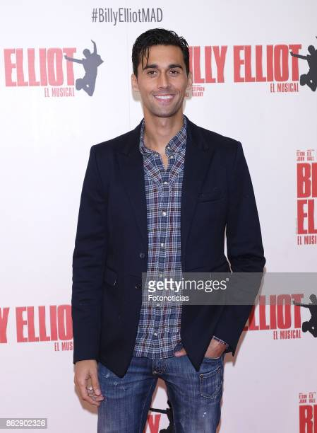 Alvaro Arbeloa attends the 'Billy ElliotEl Musical' premiere at Nuevo Alcala Theater on October 18 2017 in Madrid Spain