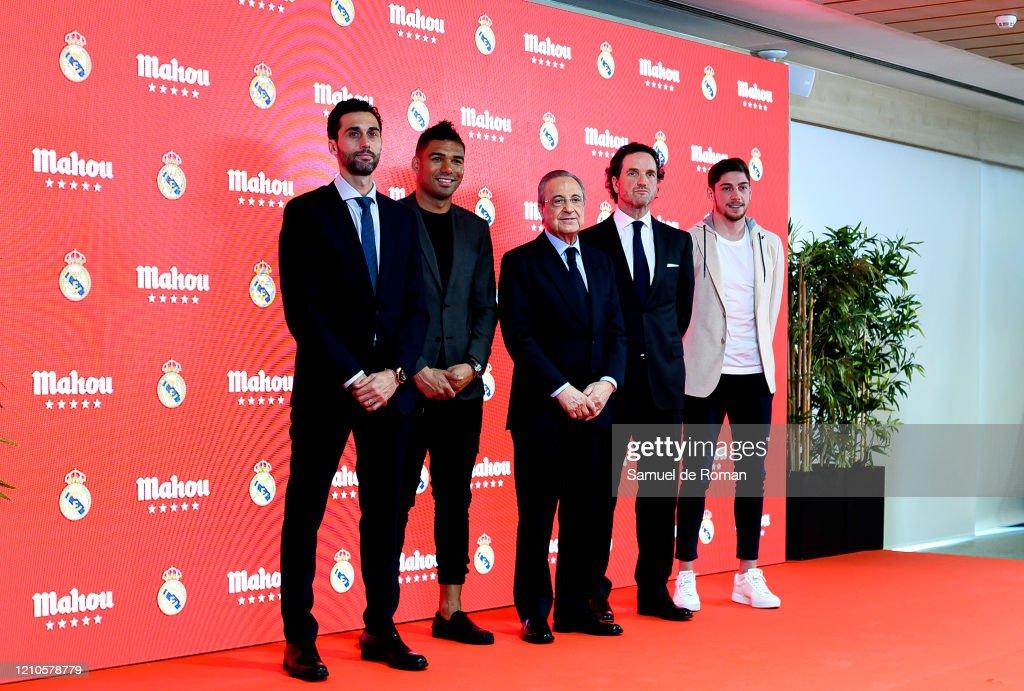 Real Madrid And Mahou San Miguel Sponsorship Presentation : ニュース写真