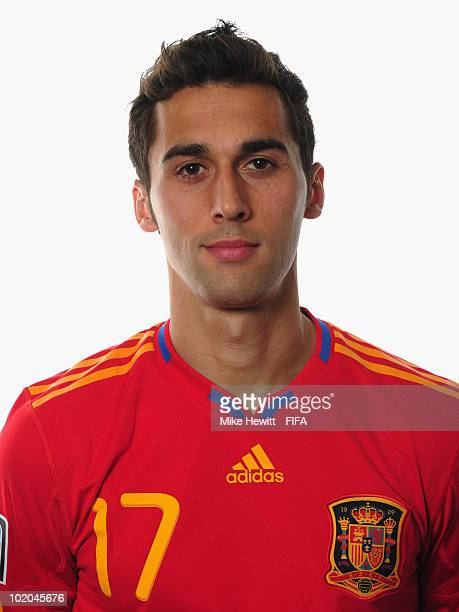 Alvaro Arbeloa of Spain poses during the official Fifa World Cup 2010 portrait session on June 13 2010 in Potchefstroom South Africa