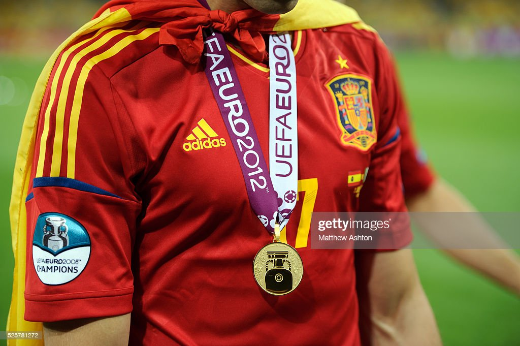 Soccer - UEFA European Championships Euro 2012 - FINAL - Spain v Italy : News Photo