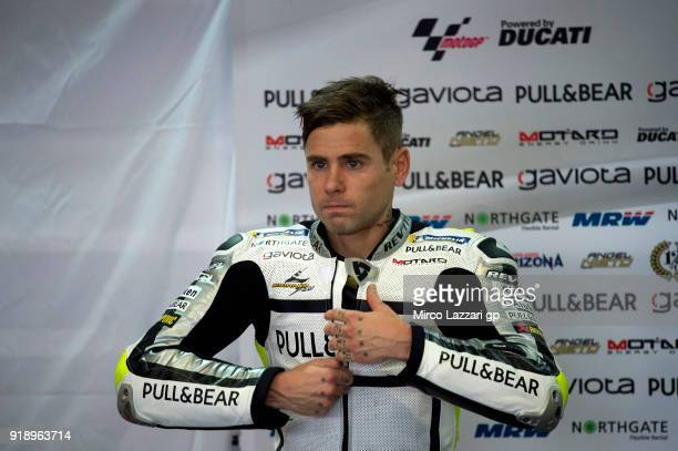 Alvaro Bautista of Spain and Angel Nieto Team prepares to start in box during the MotoGP Tests In Thailand on February 16 2018 in Buri Ram Thailand
