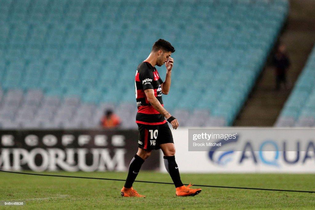 A-League Rd 27 - Western Sydney v Adelaide : News Photo