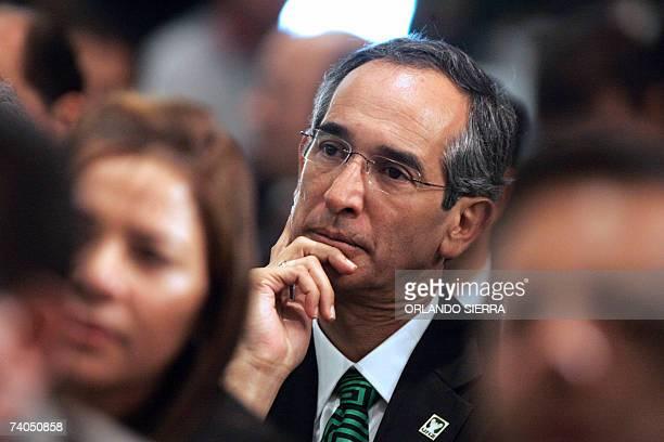 Alvaro Colon candidato presidencial por la Unidad Nacional de la Esperanza y segun las encuentas probable ganador de las proximas elecciones en...