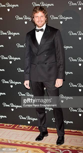 Alvaro de la Lama attends Dom Perignon party at Pinto Duarte Palace on December 9 2014 in Madrid Spain