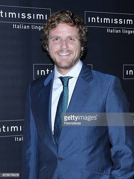 Alvar=o de la Lama attends 'Intimissimi' 20th anniversary party at the Italian Embassy on November 17 2016 in Madrid Spain