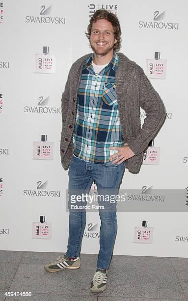Alvaro de la Lama attends Malu concert photocall at Barclaycard Center on November 22 2014 in Madrid Spain