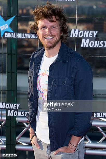 Alvaro de la Lama attends 'Money Monster' premiere at Picasso Tower roof on May 18 2016 in Madrid Spain