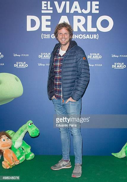Alvaro de la Lama attends 'The good dinosaur' premiere at Capitol cinema on November 20 2015 in Madrid Spain