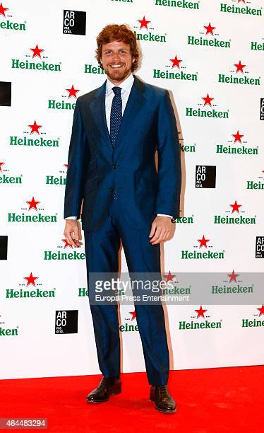 Alvaro de la Lama attends the Heineken party at ARCO 2015 the International Contemporary Art Fair at Ifema on February 25 2015 in Madrid Spain