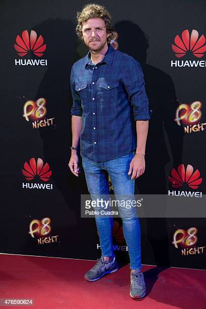 Alvaro de la Lama attends the Huawei P8 presentation party at Bodevil theatre on June 10 2015 in Madrid Spain