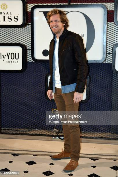 Alvaro de la Lama attends the 'Yo Dona' party at Only You Hotel Atocha on January 23 2018 in Madrid Spain