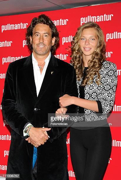 Alvaro de Marichalar and Ekaterina Anikieva attend the launch of 'Viajes Ocio Placer' Pullmantur's Magazine at Oui on March 31 2011 in Madrid Spain