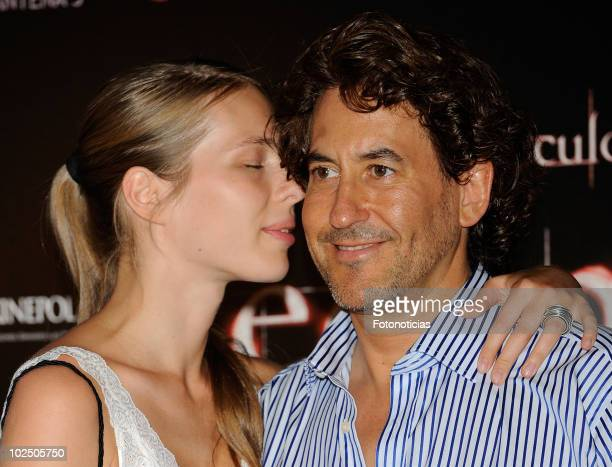 Alvaro de Marichalar and Ekatheryna Anikieva attend the premiere of 'The Twilight Saga Eclipse' at Kinepolis Cinema on June 28 2010 in Madrid Spain
