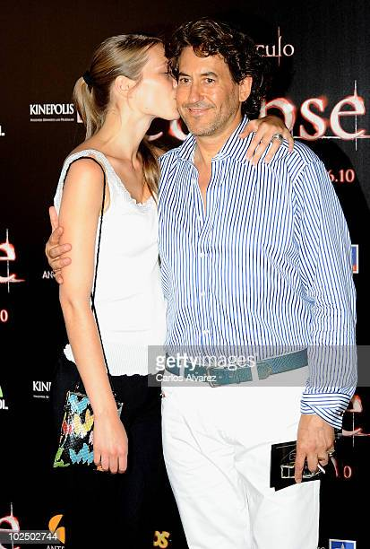 Alvaro de Marichalar and his girlfriend Ekatheryna Anikieva attend The Twilight Saga Eclipse premiere at Kinepolis Cinema on June 28 2010 in Madrid...