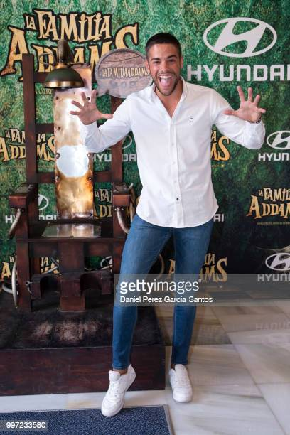 Alvaro Dominguez attends 'La Familia Addams' Malaga premiere on July 12 2018 in Malaga Spain