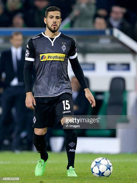 Alvaro Dominguez of Borussia Monchengladbach during the UEFA Champions League group D match between Borussia Mönchengladbach and Juventus Turin on...