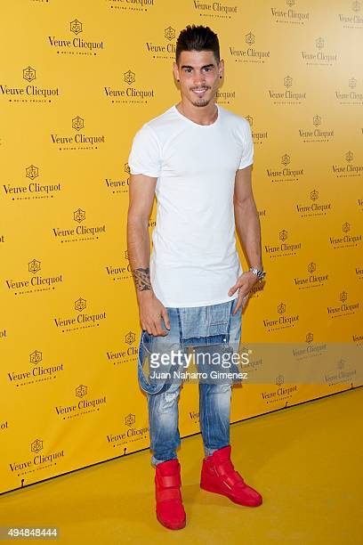 Alvaro Hierro attends 'Veuve Clicquot Yelloween Party' at Bodevill Theater on October 29 2015 in Madrid Spain