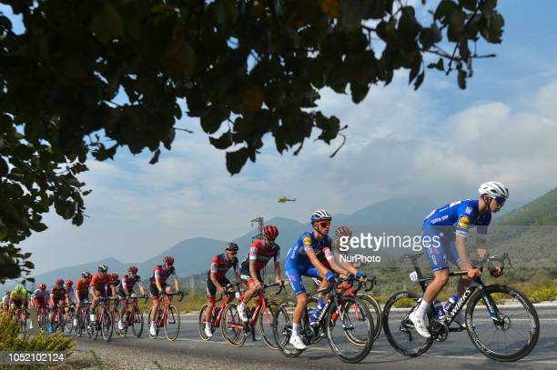 Alvaro Jose Hodeg of Colombia and Quick - Step Floors Team in action during the fifth stage - the Vestel Stage 137.3km Selcuk - Manisa, of the 54th...