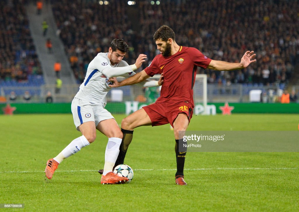 AS Roma v Chelsea FC - UEFA Champions League : News Photo
