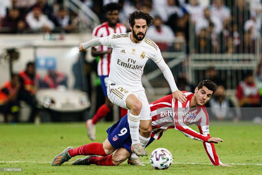 Real Madrid v Club Atletico de Madrid - Supercopa de Espana Final : News Photo