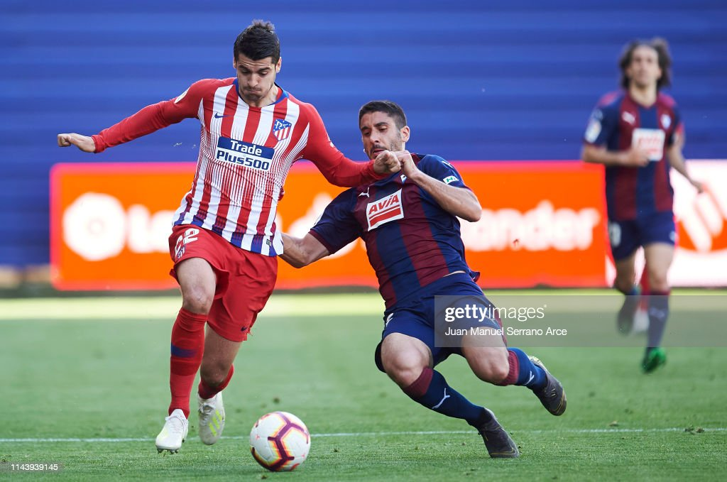 ESP: SD Eibar v  Club Atletico de Madrid - La Liga