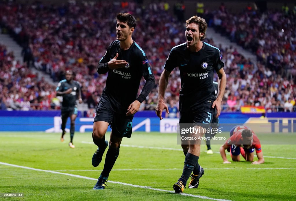 Atletico Madrid v Chelsea FC - UEFA Champions League : News Photo