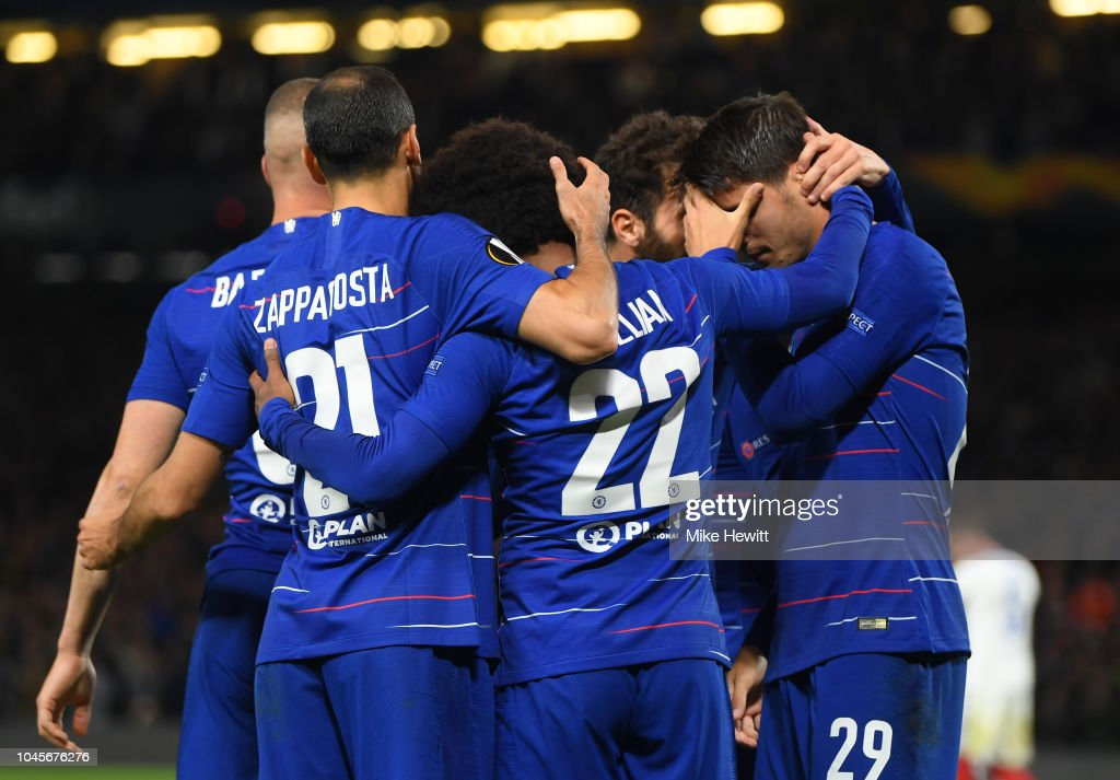 Chelsea v Vidi FC - UEFA Europa League - Group L : News Photo