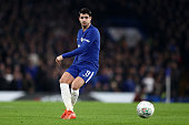 london england alvaro morata chelsea during