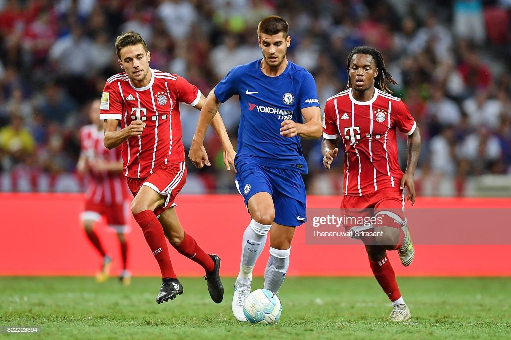 ICC Singapore - Chelsea FC v FC Bayern : News Photo