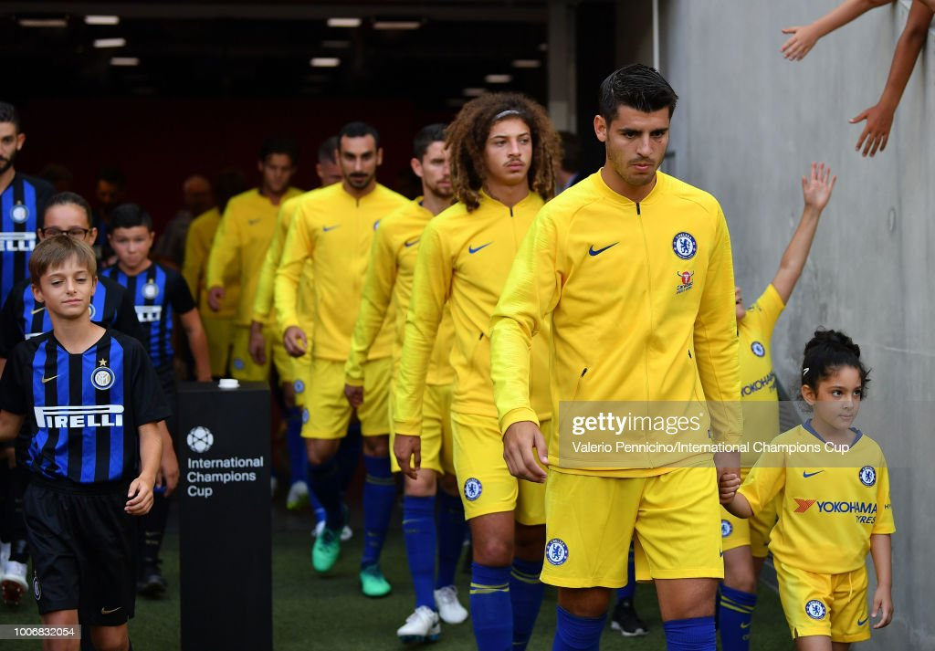 Chelsea v FC Internazionale - International Champions Cup 2018 : News Photo