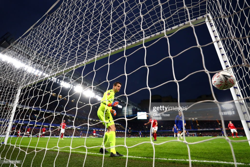 Chelsea v Nottingham Forest - FA Cup Third Round : News Photo