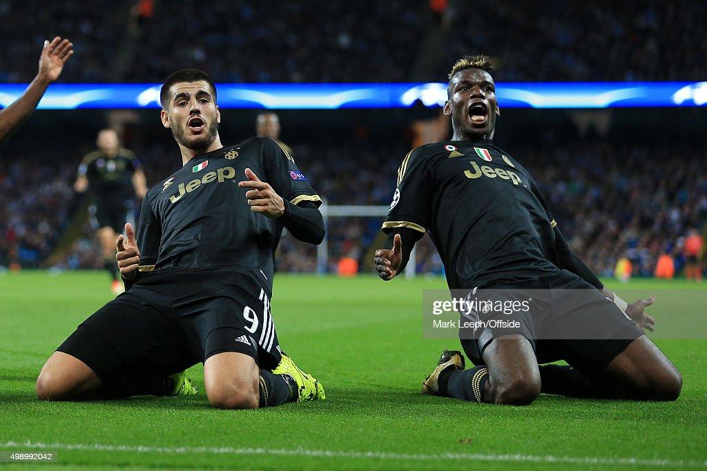 Manchester City v Juventus - UEFA Champions League : News Photo