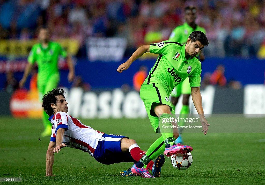 Club Atletico de Madrid v Juventus - UEFA Champions League : News Photo