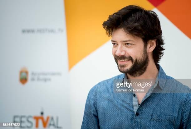 Alvaro More attends La Casa de Papel Photocall on March 31 2017 in Burgos Spain