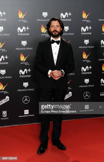 Alvaro Morte attends Feroz Awards 2018 at Magarinos Complex on January 22 2018 in Madrid Spain