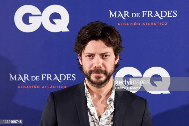 Alvaro Morte attends 'GQ Incontestables' Awards 2019 at Espacio Villanueva on May 29 2019 in Madrid Spain