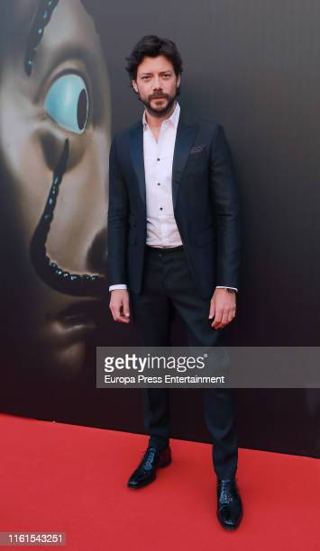 Alvaro Morte attends 'La Casa de Papel' Season 3 Premiere at Callao Cinema on July 11 2019 in Madrid Spain