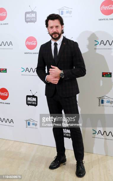Alvaro Morte attends 'MiM' awards 2019 at Hotel Puerta de America on December 17 2019 in Madrid Spain