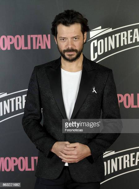 Alvaro Morte attends the 2017 Cosmpolitan Awards at the Graf club on October 19 2017 in Madrid Spain