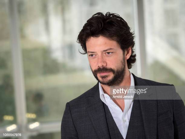 Alvaro Morte attends the 'Pier' photocall as part of the MIPCOM 2018 on October 16 2018 in Cannes France